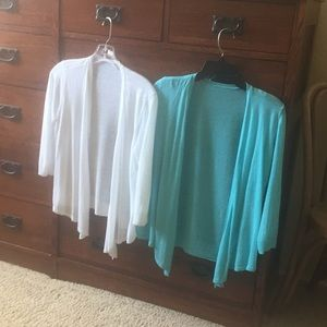 NWOT Bundle Chico's Outlet summer sweaters
